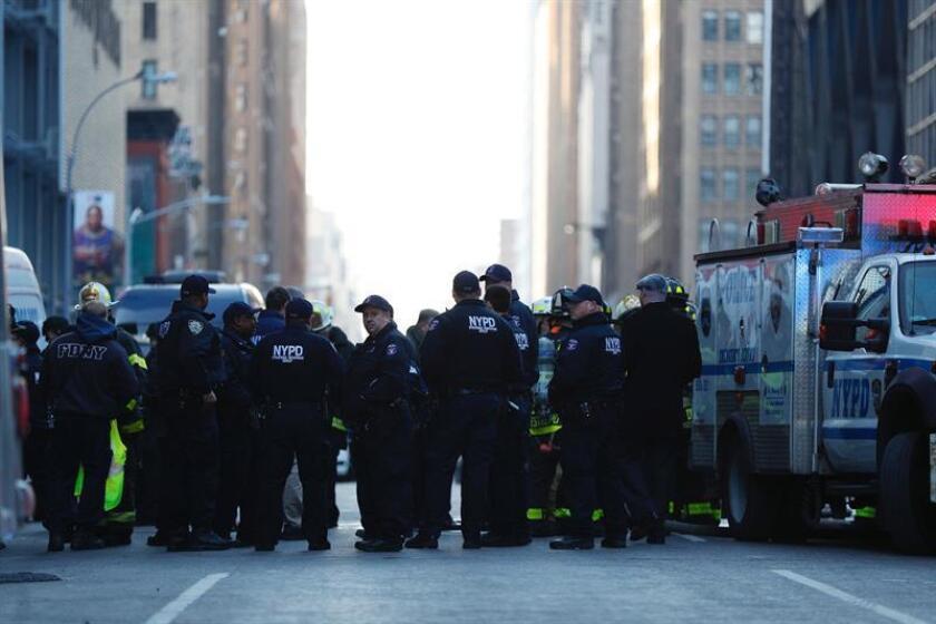 Akayed Ullah, un simpatizante del Estado Islámico (EI) que en diciembre pasado perpetró un fallido atentado suicida en pleno centro de Nueva York, fue hoy declarado culpable de todos los cargos que se le imputaban. EFE/ARCHIVO