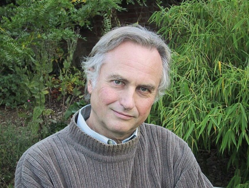 Author Richard Dawkins' interest is in evidence.