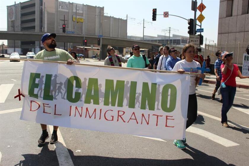 Una coalición de dueños de negocios, líderes religiosos y activistas en Nuevo México anunciaron hoy la creación de un comité dirigido a realizar acciones inmediatas con el fin de promover una reforma migratoria en el año 2017. EFE/ARCHIVO