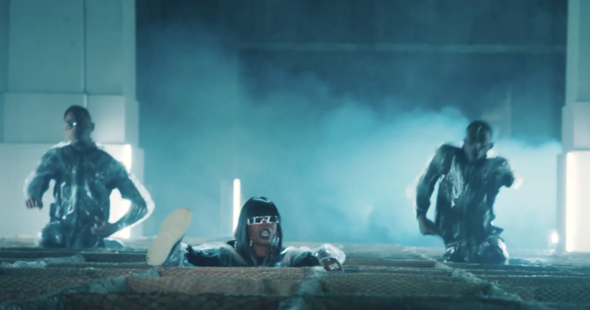 "Missy Elliott dropped her new video ""WTF (Where They From)"" early Thursday morning."
