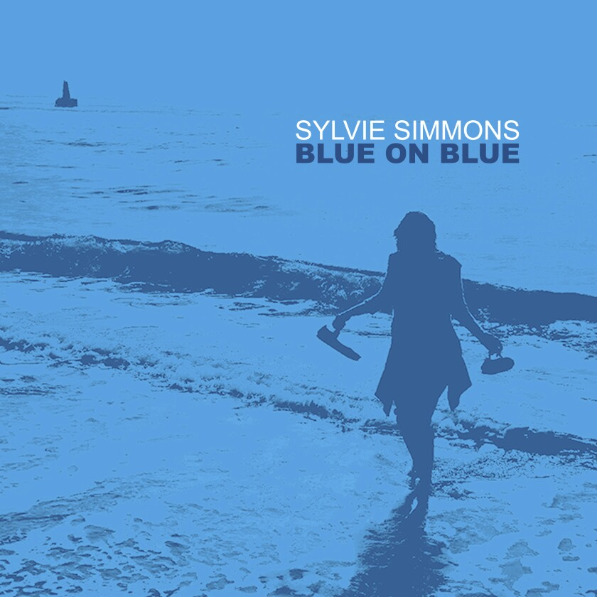 "This cover image released by Compass Records shows ""Blue on Blue,"" a release by Sylvie Simmons. (Compass Records via AP)"