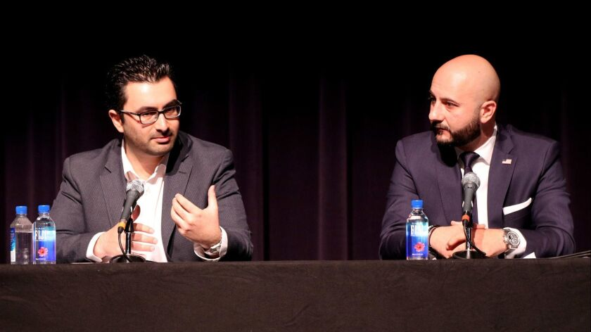 The Glendale Community College Business Club sponsored the Armenian Business Series, at auditorium o