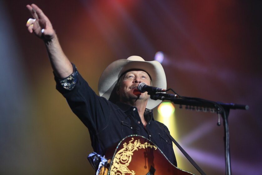 Alan Jackson performed an assortment of his best known hits during his 25th Anniversary Tour at the Valley View Casino Center.
