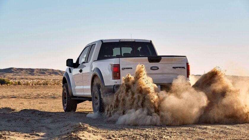 The F-150 pickup series has propelled Ford sales.