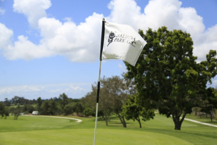The Balboa Park Golf Course is irrigated with drinking water, amid the drought.