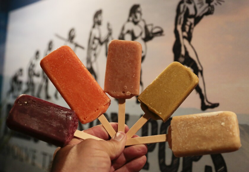 Paleo Passion Pops come in several flavors for those on the paleo diets.