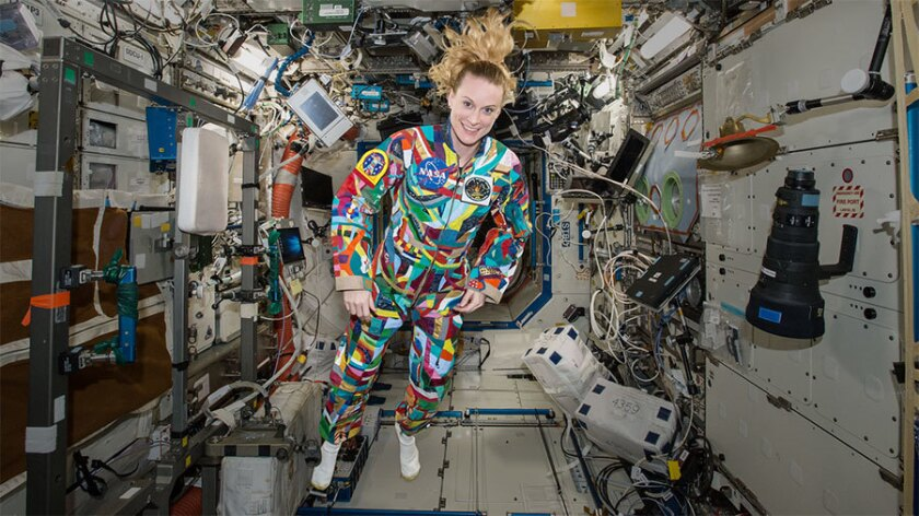 UC San Diego alum Kate Rubins served aboard the International Space Station