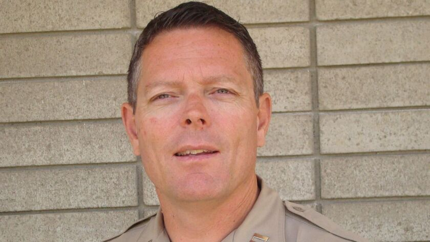 Dave Myers has been with the San Diego County Sheriff's Department for 25 years, working various