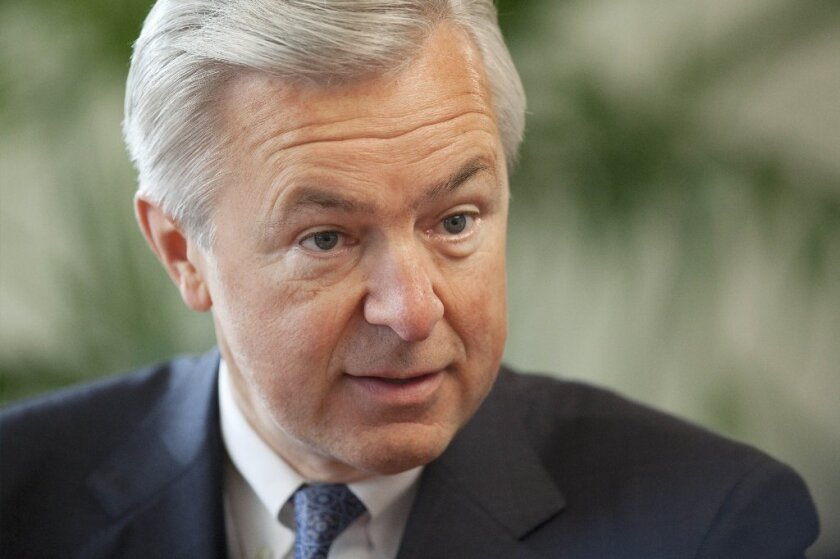 John Stumpf, chief executive of Wells Fargo, says rogue employees were to blame for as many as 2 million accounts being opened without customers' permission.