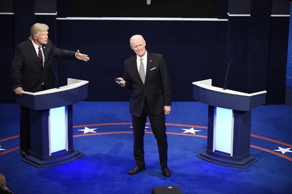 How Snl Made Fun Of 2020 Election Biden Vs Trump Debate Los Angeles Times