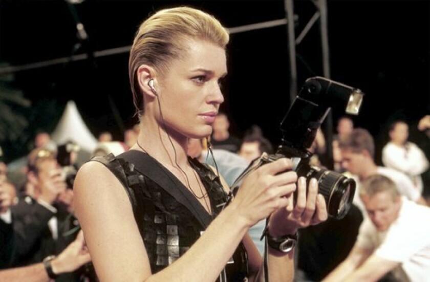 "Rebecca Romijn in ""Femme Fatale"""