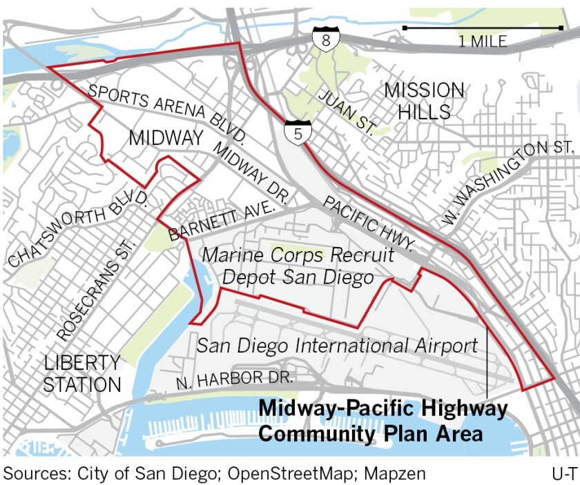 Midway-Pacific Highway Community Plan Area
