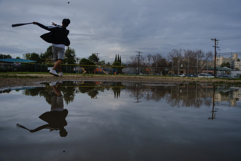 April showers break records in L.A. County, with more rain and snow on the way
