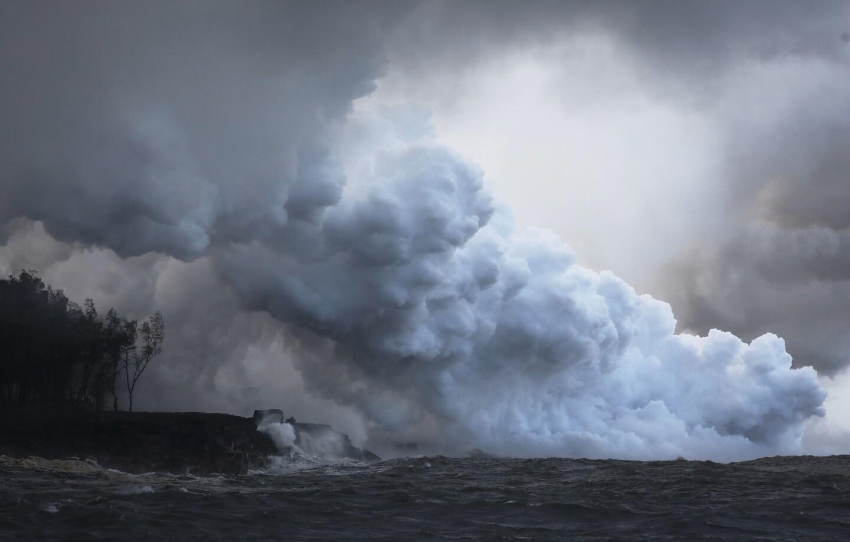 Kilauea volcano on Hawaii's Big Island