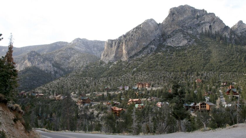 Mt Charleston, NV-- Mt. Charleston – named after the 11,916-foot Charleston Peak -- is just 45 mi