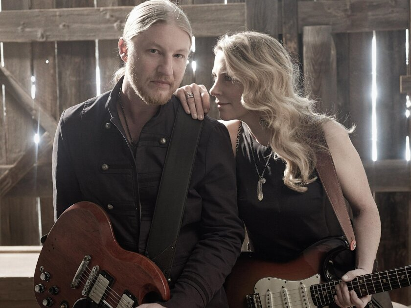 Derek Trucks, left, and Susan Tedeschi of the Tedeschi Trucks Band. Credit: Mark Seliger