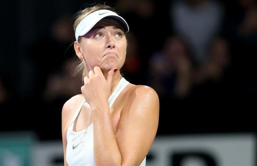 En la imagen, la tenista rusa Maria Sharapova. EFE/Archivo