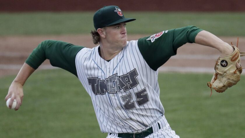 Chris Paddack began his stay in the Padres organization at low Single-A Fort Wayne. (