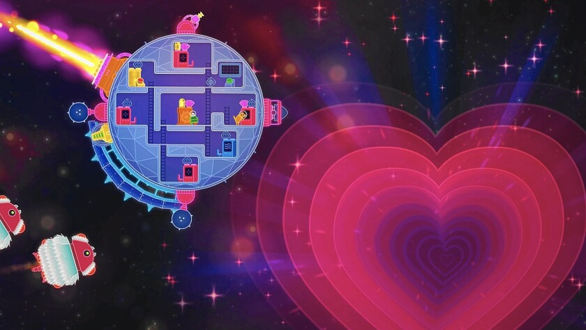'Slam City Oracles' and 'Lovers in a Dangerous Spacetime' score points for being upbeat fun