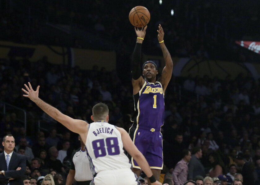 Kentavious Caldwell-Pope again proves his worth to Lakers in win over Kings