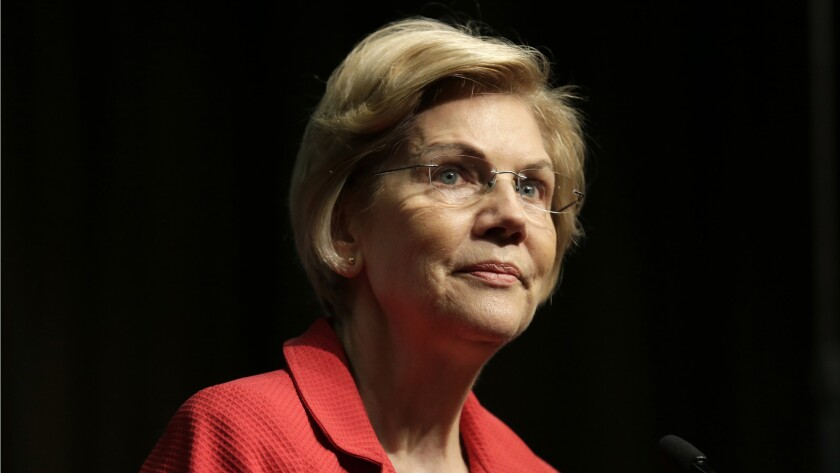 Sen. Elizabeth Warren (D-Mass.) is a former Harvard law professor.