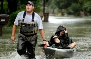 Muertes por Harvey podrían dispararse una vez que las inundaciones retrocedan
