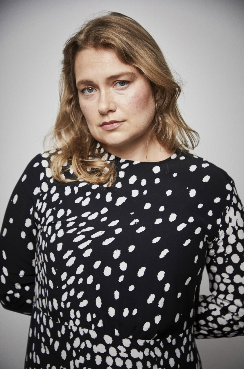 "Merritt Wever stars in the TV series ""Run,"" which premieres Sunday on HBO."