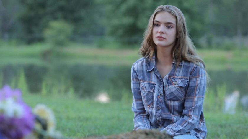 """Brighton Sharbino in a scene from """"Urban Country."""" Credit: Vertical Entertainment"""