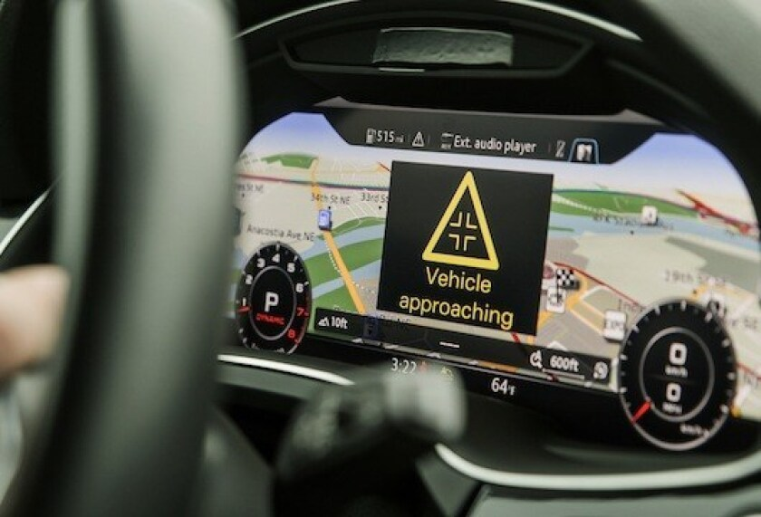 Wireless technology that allows cars to communicate directly with each other will be tested on San Diego streets this year.