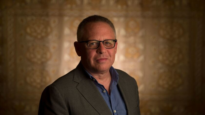 """""""Beauty and the Beast"""" director Bill Condon at the Montage in Beverly Hills."""