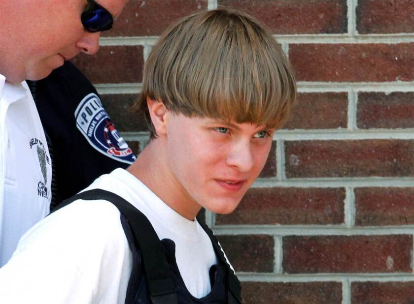 Dylann Roof. (Reuters)