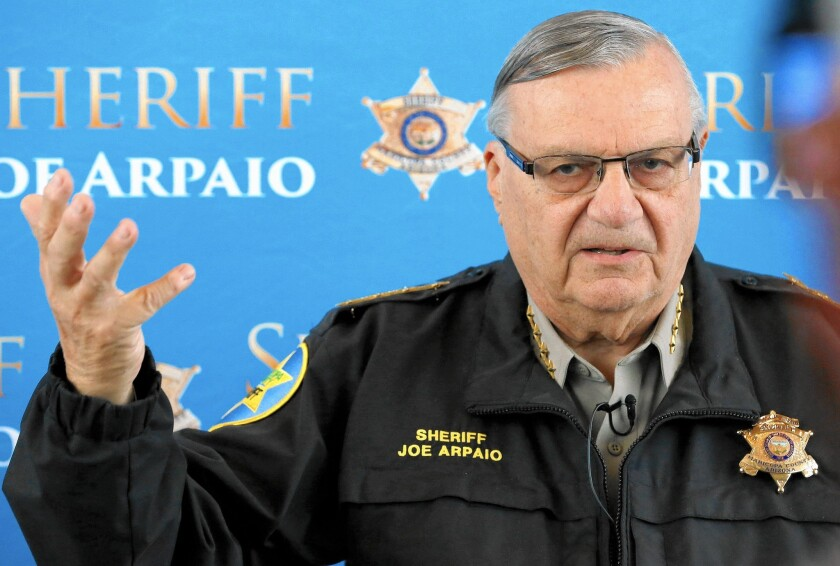 Maricopa County Sheriff Joe Arpaio used Arizona's identity theft law to justify workplace raids meant to round up immigrants working in the country illegally.