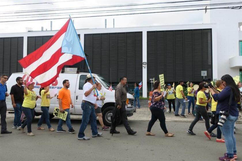 """La Federación de Maestros de Puerto Rico (FMPR) convocó hoy una protesta para el próximo día 14 para pedir el aumento salarial """"otorgado al resto de educadores"""" para los maestros transitorios. EFE/Archivo"""