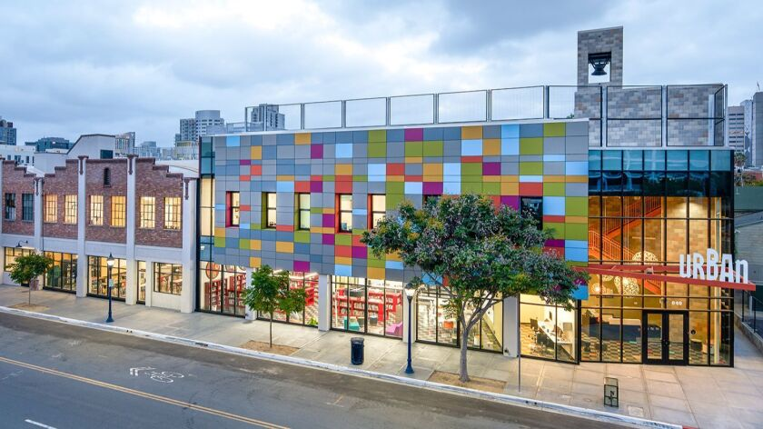 The Urban Discovery Academy charter school at 840 14th St. was designed by ARVP Studios and opened in 2015. It will be open on the Open House tour from 10 a.m. to 4 p.m. Saturday, March 25.