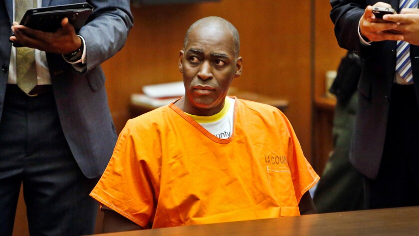 Actor Michael Jace in court on Aug. 15, 2014.