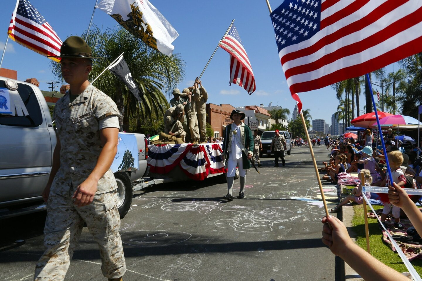 Coronado's Fourth of July parade