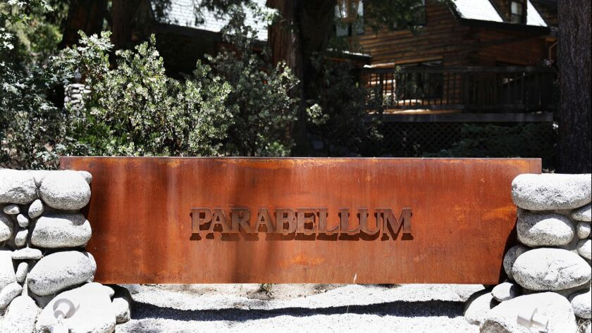 IDYLLWILD-CA-JUNE 28, 2018: Parabellum, a new store in Idyllwild, specializing in, among other thing