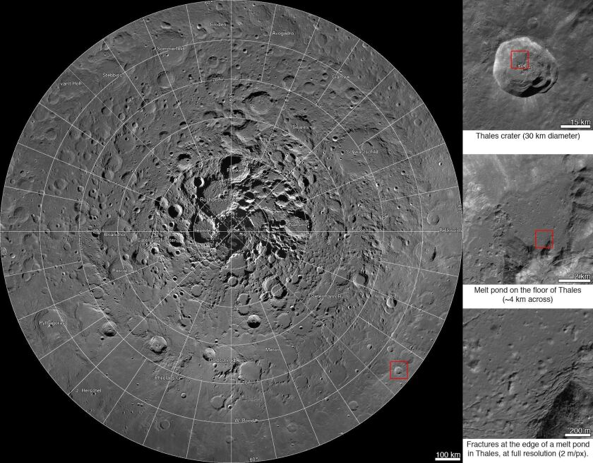 Check out NASA\'s amazing new interactive map of the moon ...