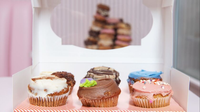 You can find vegan cupcakes at Erin McKenna's latest bakery location opening in Santa Monica.