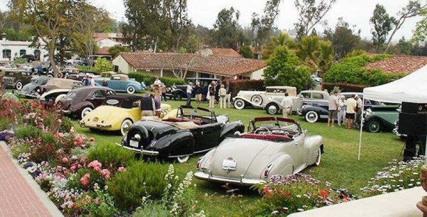 A recent Grand Classic at The Inn at Rancho Santa Fe. This year's show will be March 12.