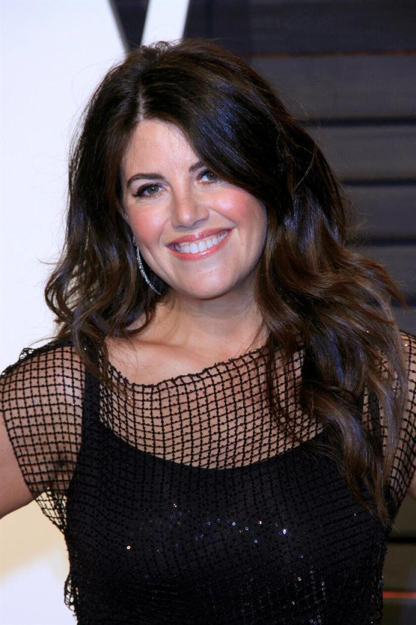 Monica Lewinsky arriving for the 2017 Vanity Fair Oscar Party following the 89th annual Academy Awards ceremony in Beverly Hills, California, USA. EFE/Archivo