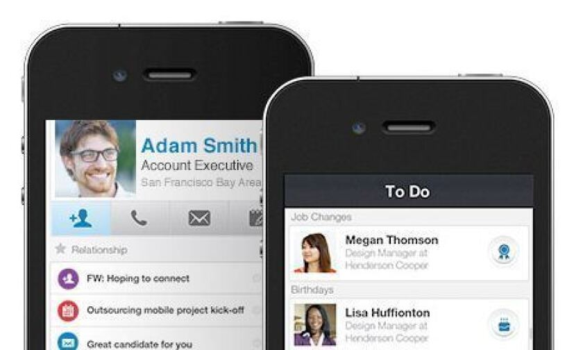 LinkedIn Contacts is a new app designed to help users keep their contacts up to date.