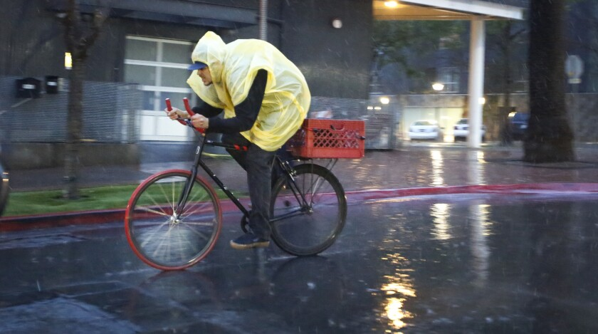 Forecasters expect San Diego to get its first storm of the season this week. As much as 1.5 inches of rain is possible near the coast, and 2 inches in the mountains.