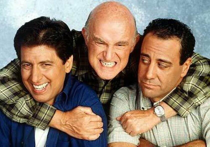 """Everybody Loves Raymond"" co-stars Ray Romano, Peter Boyle and Brad Garrett"