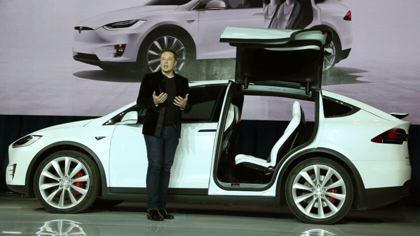 Tesla CEO Elon Musk introduced the Model X SUV in 2015, but the company ran into quality problems with its advanced gull-wing doors and other components.