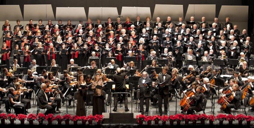 Maestro Steven Schick conducts the La Jolla Symphony & Chorus in 'Missa Solemnis.'