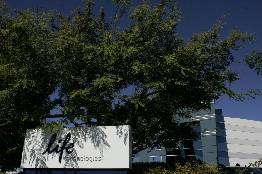 Life Technologies' headquarters in Carlsbad.
