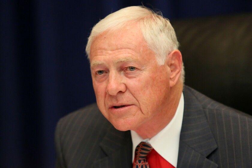 Michael D. Antonovich is the L.A. County Board of Supervisors' main proponent of Laura's Law.
