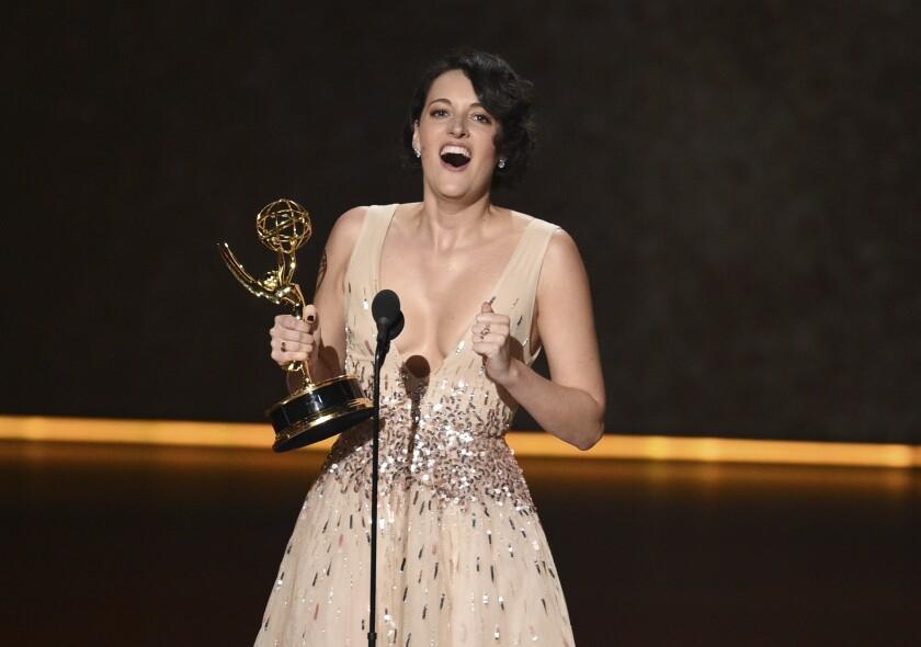 Phoebe Waller-Bridge at 2019 Emmys