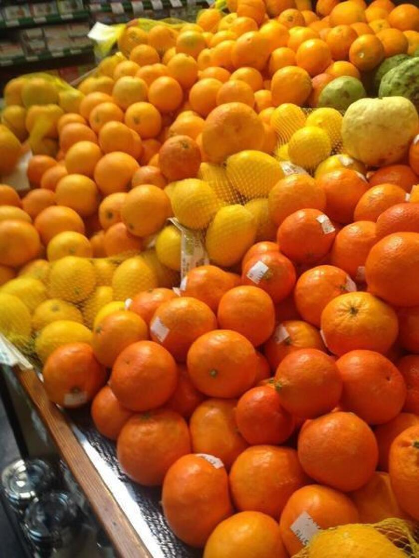 When choosing oranges, select firm ones with good heft for their size, and a glossy rind free of soft or moldy spots.